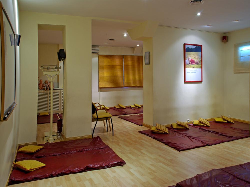 Sala de prácticas de preparación al parto